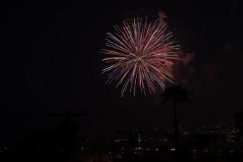 Ocean Beach Pier Fireworks 10