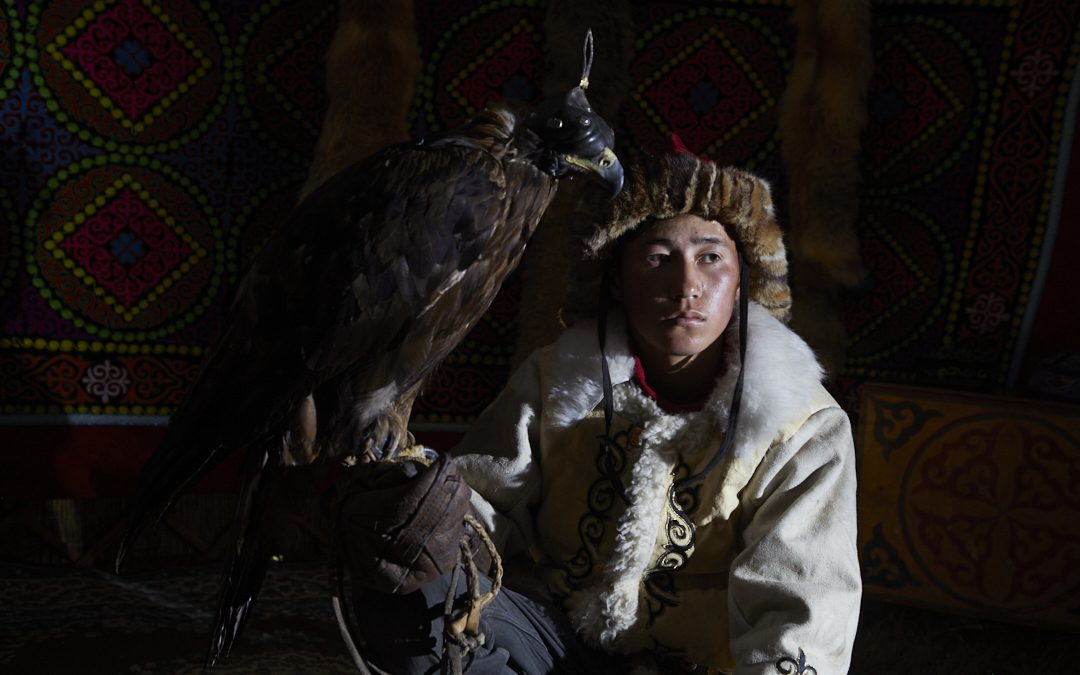 Portrait of an Eagle Hunter
